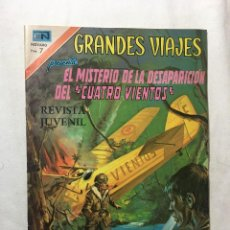 Tebeos: RA4 ANTIGUO COMIC NOVARO GRANDES VIAJES 73: EXPEDICIONES OCEANOGRÁFICAS, AÑOS 60/70 BUEN ESTADO. Lote 122578359
