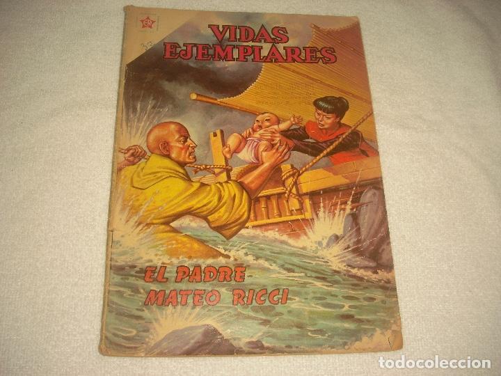 VIDAS EJEMPLARES . EL PADRE MATEO RICCI (Tebeos y Comics - Novaro - Vidas ejemplares)