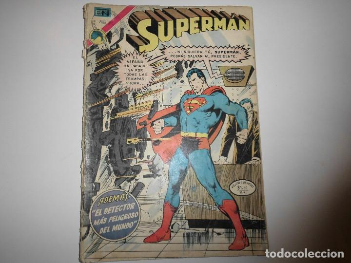 SUPERMAN Nº 896 NOVARO (Tebeos y Comics - Novaro - Superman)