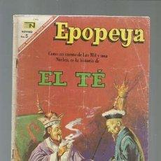 Tebeos: EPOPEYA 106: EL TÉ, 1967, NOVARO. Lote 122733171
