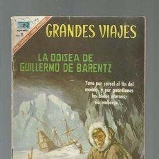 Tebeos: GRANDES VIAJES 48: LA ODISEA DE QUILLERMO DE BARENTZ, 1967, NOVARO, BUEN ESTADO. Lote 122733311