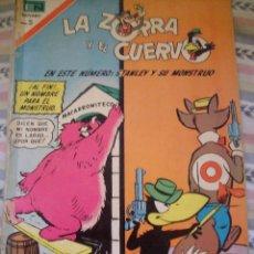 Tebeos: LA ZORRA Y EL CUERVO STANLEY Y SU MONSTRUO Nº 202 NOVARO. Lote 122874031