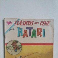 Tebeos: CLÁSICOS DEL CINE N° 103 - HATARI - ORIGINAL EDITORIAL NOVARO. Lote 123019767