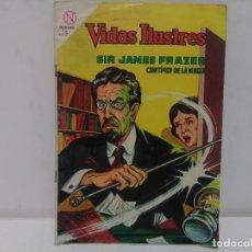 Tebeos: COMIC VIDAS ILUSTRES- SIR JAMES FRAZER, Nº101- EDITORIAL NOVARO, AÑO 1964. Lote 123042175