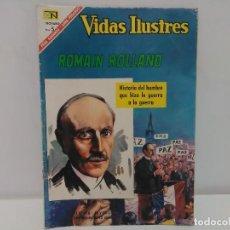 Tebeos: COMIC VIDAS ILUSTRES- ROMAIN ROLLAND, Nº153 - EDITORIAL NOVARO, AÑO 1967. Lote 123042447