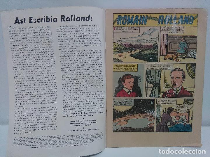 Tebeos: Comic Vidas Ilustres- Romain Rolland, Nº153 - Editorial Novaro, año 1967 - Foto 3 - 123042447