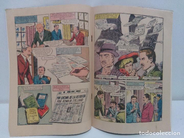 Tebeos: Comic Vidas Ilustres- Romain Rolland, Nº153 - Editorial Novaro, año 1967 - Foto 4 - 123042447