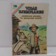 Tebeos: VIDAS EJEMPLARES, JERÓNIMO JAEGEN, EL BANQUERO SANTO, Nº247, AÑO 1967. Lote 123043291