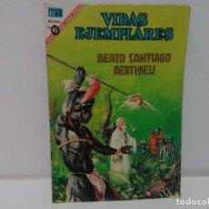 Tebeos: VIDAS EJEMPLARES, BEATO SANTIAGO BERTHIEU, Nº240 , AÑO 1967. Lote 123043427
