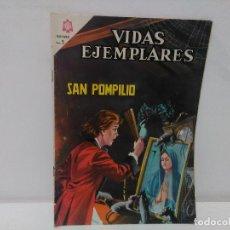 Tebeos: VIDAS EJEMPLARES, SAN POMPILIO, Nº227 , AÑO 1966. Lote 123043615
