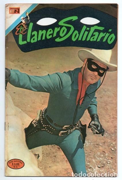LLANERO SOLITARIO # 1 NOVARO AVESTRUZ 1975 LONE RANGER # 142 AÑO 1961 CLAYTON MOORE EXCELENTE (Tebeos y Comics - Novaro - El Llanero Solitario)