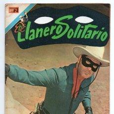 Tebeos: LLANERO SOLITARIO # 1 NOVARO AVESTRUZ 1975 LONE RANGER # 142 AÑO 1961 CLAYTON MOORE EXCELENTE. Lote 123043823