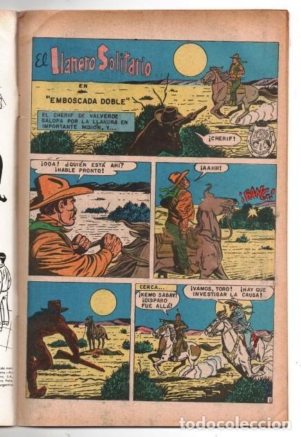 Tebeos: LLANERO SOLITARIO # 1 NOVARO AVESTRUZ 1975 LONE RANGER # 142 AÑO 1961 CLAYTON MOORE EXCELENTE - Foto 2 - 123043823