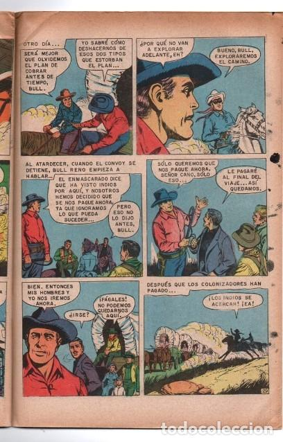 Tebeos: LLANERO SOLITARIO # 1 NOVARO AVESTRUZ 1975 LONE RANGER # 142 AÑO 1961 CLAYTON MOORE EXCELENTE - Foto 4 - 123043823