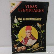 Tebeos: VIDAS EJEMPLARES, SAN ALBERTO MAGNO, Nº242 , AÑO 1967. Lote 123044127