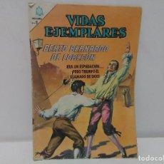 Tebeos: VIDAS EJEMPLARES, BEATO BERNARDO DE CORLEÓN, Nº212 , AÑO 1966. Lote 123044327