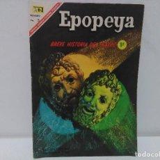 Tebeos: EPOPEYA. BREVE HISTORIA DEL TEATRO 1º, Nº109, AÑO 1967 NOVARO. Lote 123044875