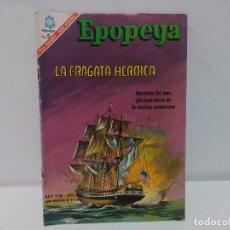 Tebeos: EPOPEYA. LA FRAGATA HEROICA, Nº103, AÑO 1966 NOVARO. Lote 123045219