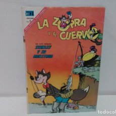 Tebeos: LA ZORRA Y EL CUERVO, Nº195, AÑO1967, EDICIONES NOVARO. Lote 123048023