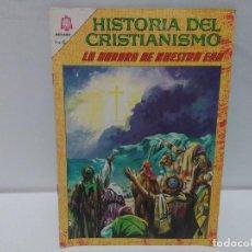 Tebeos: HISTORIA DEL CRISTIANISMO. LA AURORA DE NUESTRA ERA, Nº3, AÑO 1966, NOVARO. Lote 123053379