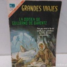 Tebeos: GRANDES VIAJES. LA ODISEA DE GUILLERMO DE BARENTZ. Nº48, AÑO 1967, NOVARO. Lote 123054275