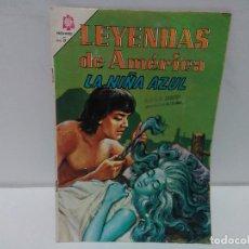 Tebeos: LEYENDAS DE AMÉRICA. LA NIÑA AZUL. Nº109, AÑO 1965, NOVARO. Lote 123055035