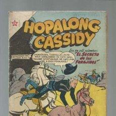 Comics - Hopalong Cassidy 52: el secreto de los forajidos, 1958, Novaro, buen estado - 123067131