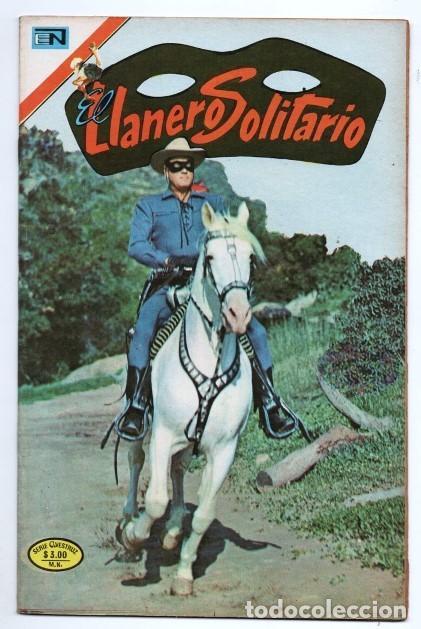 LLANERO SOLITARIO # 2 NOVARO AVESTRUZ 1975 LONE RANGER # 141 AÑO 1961 CLAYTON MOORE EXCELENTE (Tebeos y Comics - Novaro - El Llanero Solitario)