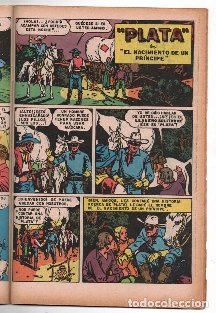 Tebeos: LLANERO SOLITARIO # 2 NOVARO AVESTRUZ 1975 LONE RANGER # 141 AÑO 1961 CLAYTON MOORE EXCELENTE - Foto 3 - 123083679