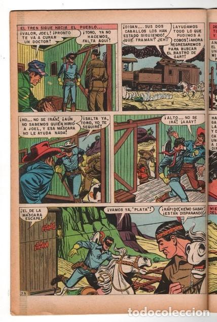 Tebeos: LLANERO SOLITARIO # 2 NOVARO AVESTRUZ 1975 LONE RANGER # 141 AÑO 1961 CLAYTON MOORE EXCELENTE - Foto 5 - 123083679