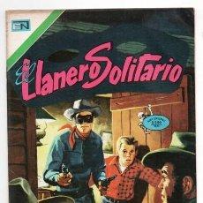 Tebeos: LLANERO SOLITARIO # 5 NOVARO AVESTRUZ 1975 LONE RANGER # 101 AÑO 1956 HISTORIA DEL LLANERO EXCELENTE. Lote 123083831