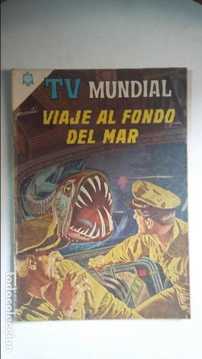 TV MUNDIAL N° 48 - VIAJE AL FONDO DEL MAR - ORIGINAL EDITORIAL NOVARO (Tebeos y Comics - Novaro - Otros)