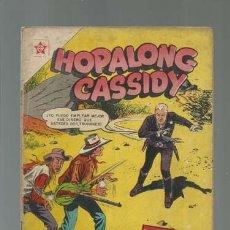 Tebeos: HOPALONG CASSIDY 31, 1956, NOVARO, MUY BUEN ESTADO. Lote 133196218