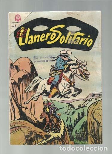 EL LLANERO SOLITARIO 142, 1965, NOVARO, BUEN ESTADO (Tebeos y Comics - Novaro - El Llanero Solitario)