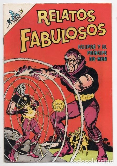 RELATOS FABULOSOS # 105 NOVARO 1968 ECLIPSO Y EL PRINCIPE RA MAN HOUSE OF SECRETS # 80 IMPECABLE (Tebeos y Comics - Novaro - Sci-Fi)