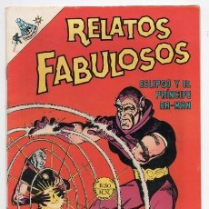 Tebeos: RELATOS FABULOSOS # 105 NOVARO 1968 ECLIPSO Y EL PRINCIPE RA MAN HOUSE OF SECRETS # 80 IMPECABLE. Lote 123556551