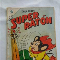 Tebeos: EL SUPER RATON Nº 54 EDICIONES RECREATIVAS (NOVARO) FEBRERO DE 1956. Lote 123808275