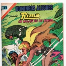 Tebeos: DOMINGOS ALEGRES # 1123 NOVARO AGUILA 1976 RIMA THE JUNGLE GIRL DC # 5 IMPECABLE DE EDITORIAL. Lote 124160391