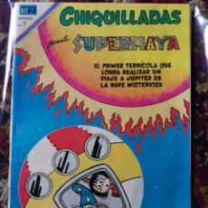 Tebeos: CÓMIC CHIQUILLADAS, SUPERMAYA- EDITORIAL NOVARO, N°284-1970.. Lote 124218098