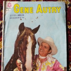 Tebeos: CÓMIC GENE AUTRY - EDITORIAL NOVARO, N°133-1965.. Lote 124220664