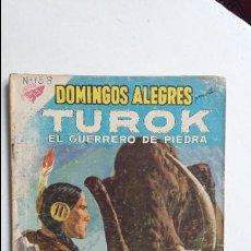 Tebeos: TUROK EL GUERRERO DE PIEDRA - DOMINGOS ALEGRES N° 299 - ORIGINAL EDITORIAL NOVARO. Lote 124229123