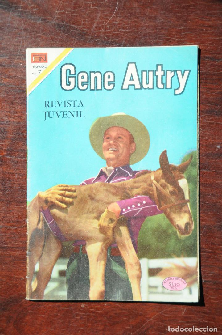 GENE AUTRY Nº 191 EDITORIAL NOVARO. 1969 (Tebeos y Comics - Novaro - El Llanero Solitario)
