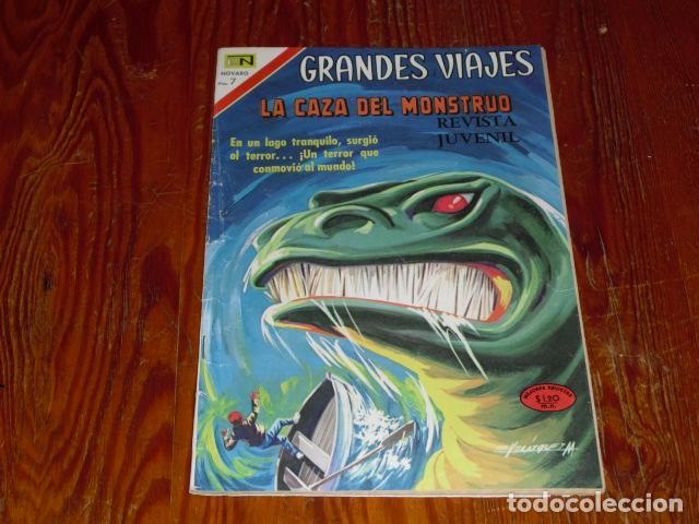 NOVARO - GRANDES VIAJES - Nº 93 - 1970 - (Tebeos y Comics - Novaro - Grandes Viajes)
