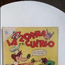 Tebeos: LA ZORRA Y EL CUERVO N° 79 - ORIGINAL EDITORIAL NOVARO. Lote 124491555