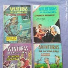 Tebeos: NOVARO - AVENTURAS DE LA VIDA REAL - LOTE DE 4. Lote 124605248