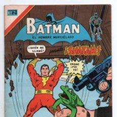 Tebeos: BATMAN # 812 NOVARO AGUILA 1976 SHAZAM CAPITAN MARVEL LA RANA PARLANTE MARVELITO SIVANA IMPECABLE. Lote 124684879