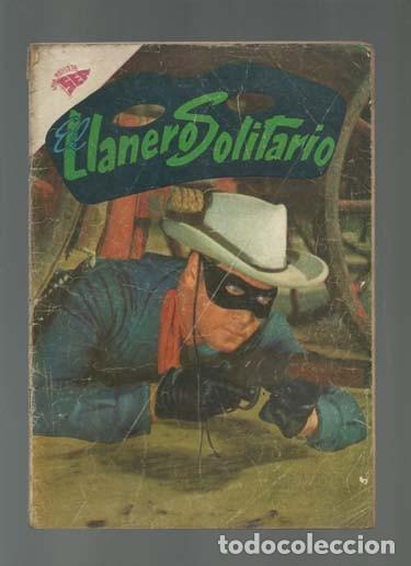EL LLANERO SOLITARIO 84, 1960, NOVARO (Tebeos y Comics - Novaro - El Llanero Solitario)