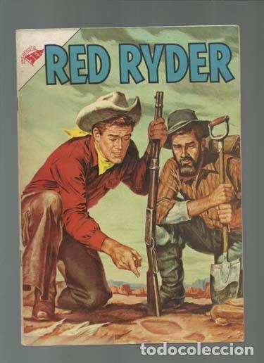 RED RYDER 7, 1955, NOVARO, MUY BUEN ESTADO (Tebeos y Comics - Novaro - Red Ryder)
