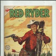 Tebeos: RED RYDER 5, 1955, NOVARO, MUY BUEN ESTADO. Lote 125107679