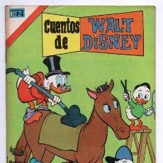 Tebeos: CUENTOS DE WALT DISNEY # 4 NOVARO AVESTRUZ 1975 MICKEY CIRO PERALOCA RICO MAC PATO IMPECABLE. Lote 125173675